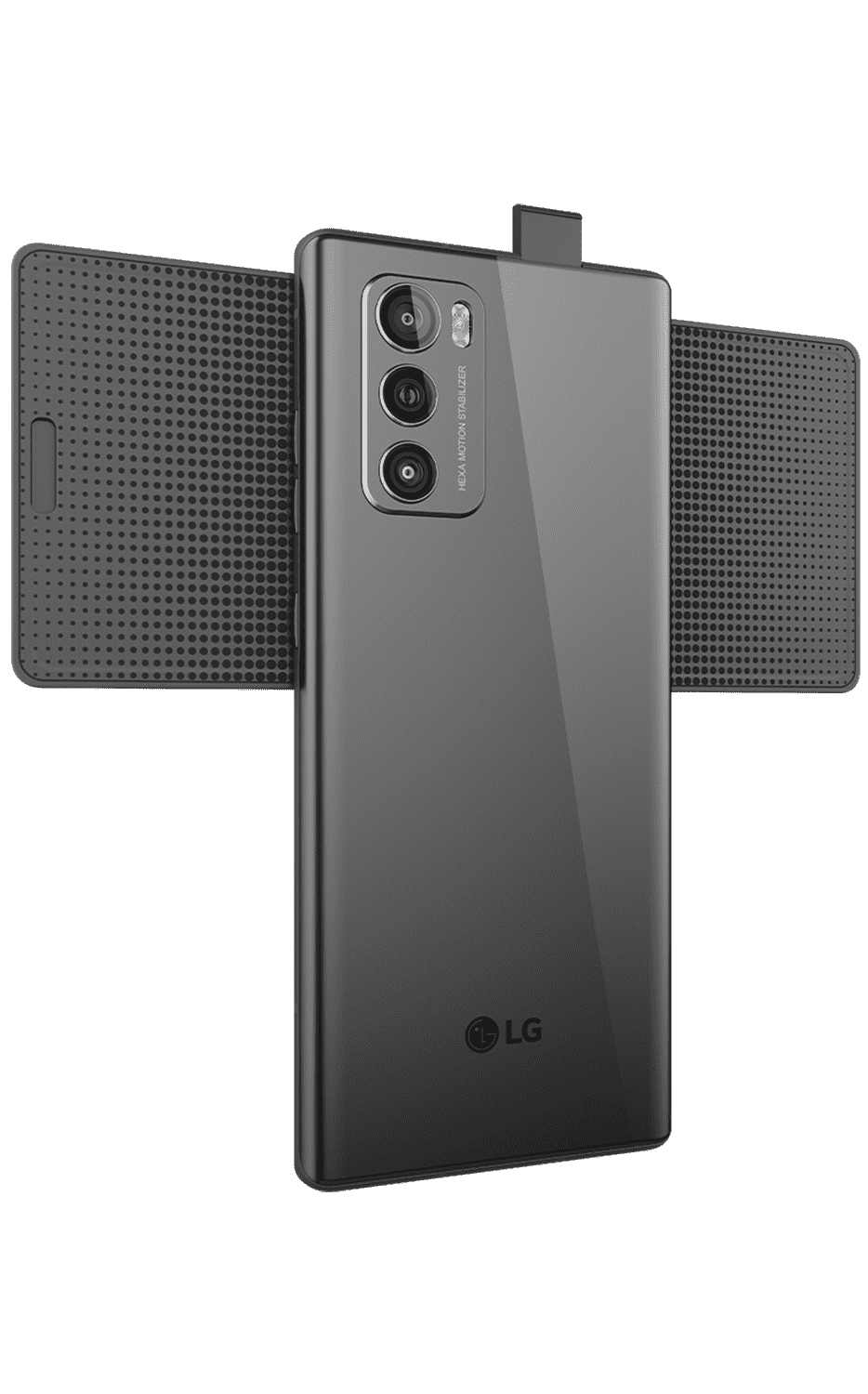 Right View WING 5G Aurora Gray