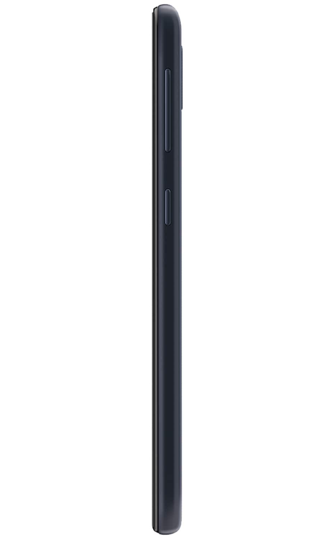 Vista izquierda del Galaxy A10e - Negro carbón
