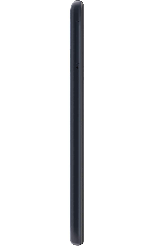 Vista derecha del Galaxy A10e - Negro carbón