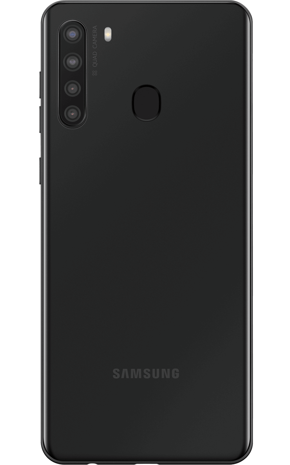 Rear View Galaxy A21 Black