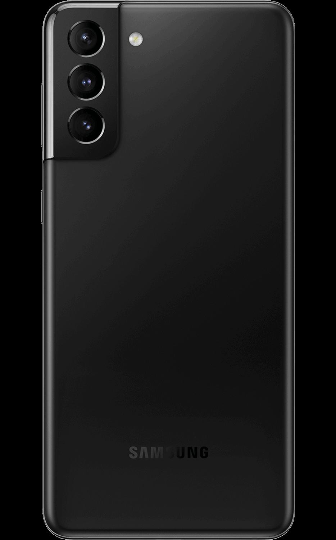 Vista trasera del Samsung Galaxy S21-Plus 5G - Phantom Black
