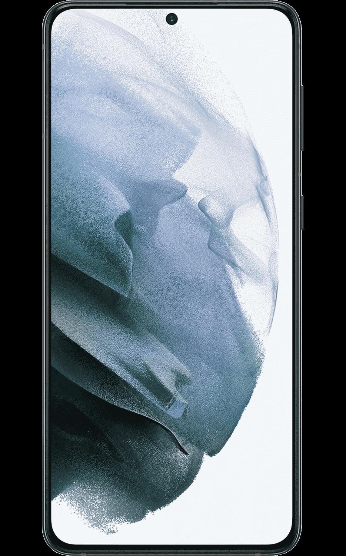 Vista frontal del Samsung Galaxy S21-Plus 5G - Phantom Black