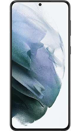 Front View Samsung Galaxy S21-Plus 5G Phantom Black