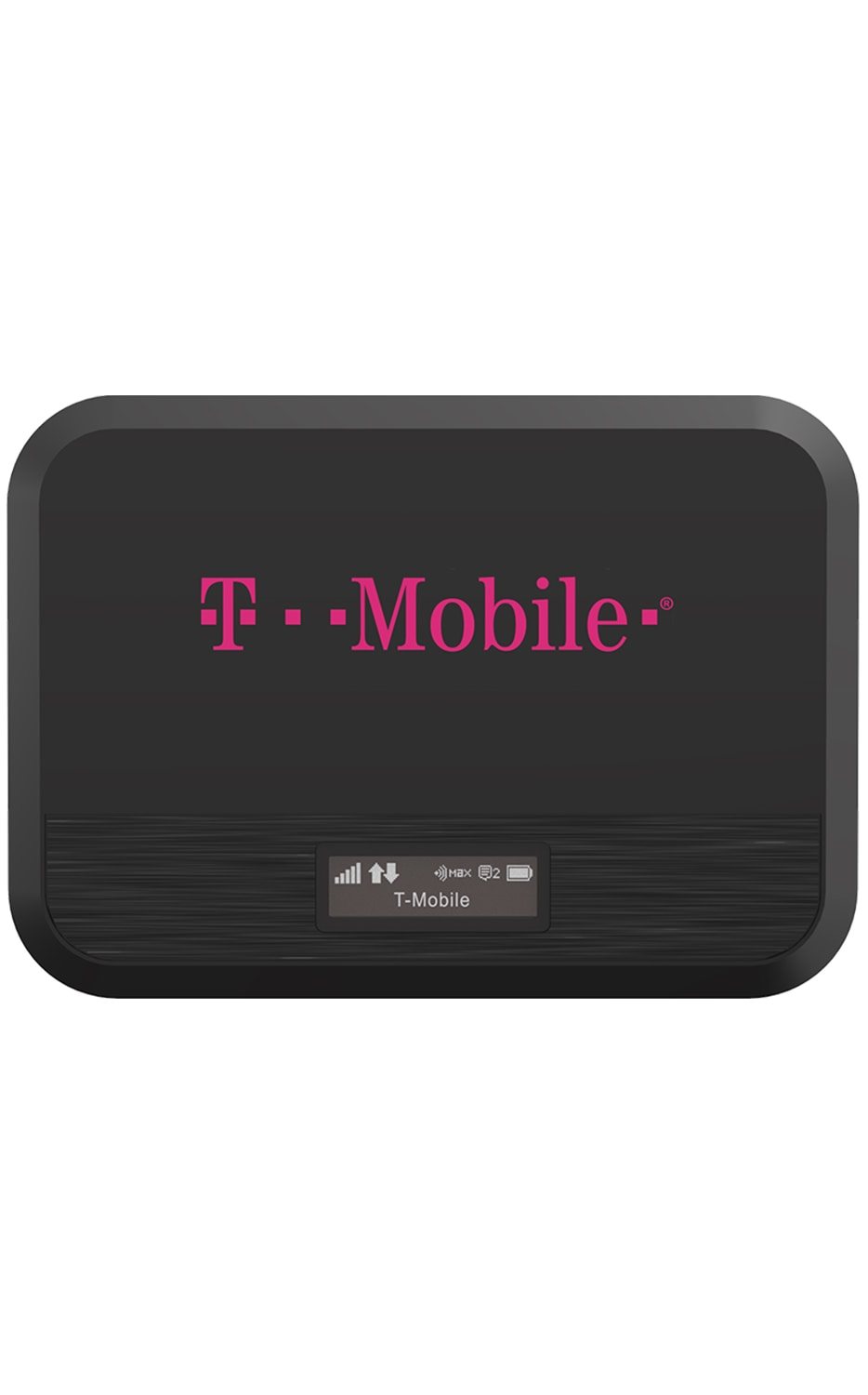 Front View T9 Mobile Hotspot Black