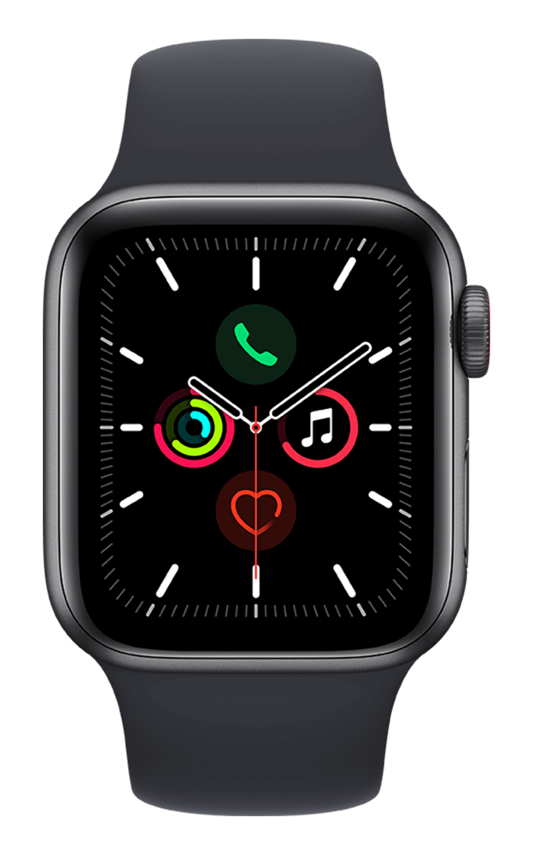 Apple Watch SE 40mm - Space Gray AL - Midnight Band