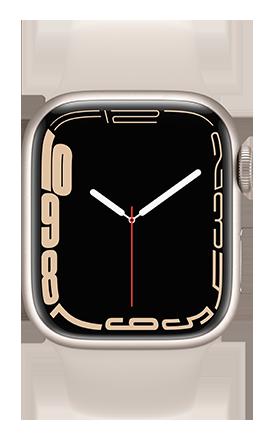 Apple Watch Series 7 45mm - Starlight AL - Starlight