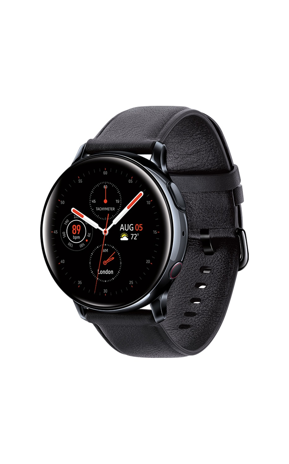 Rear View Galaxy Watch Active2 40mm Black