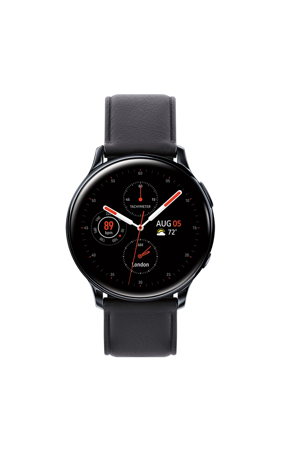 Front View Galaxy Watch Active2 40mm Black