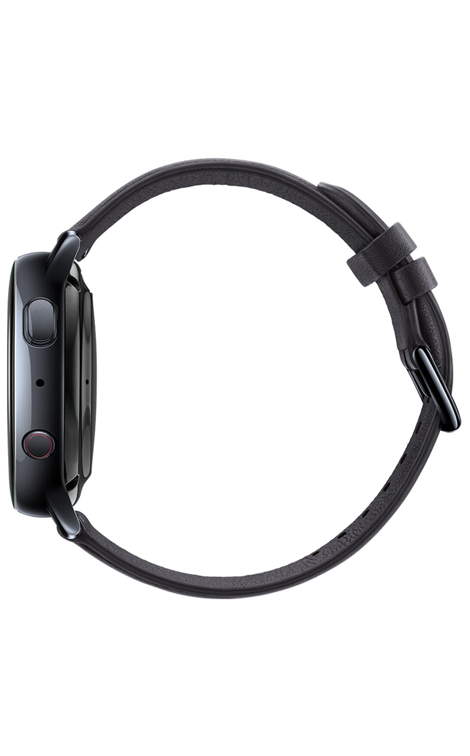 Left View Galaxy Watch Active2 40mm Black