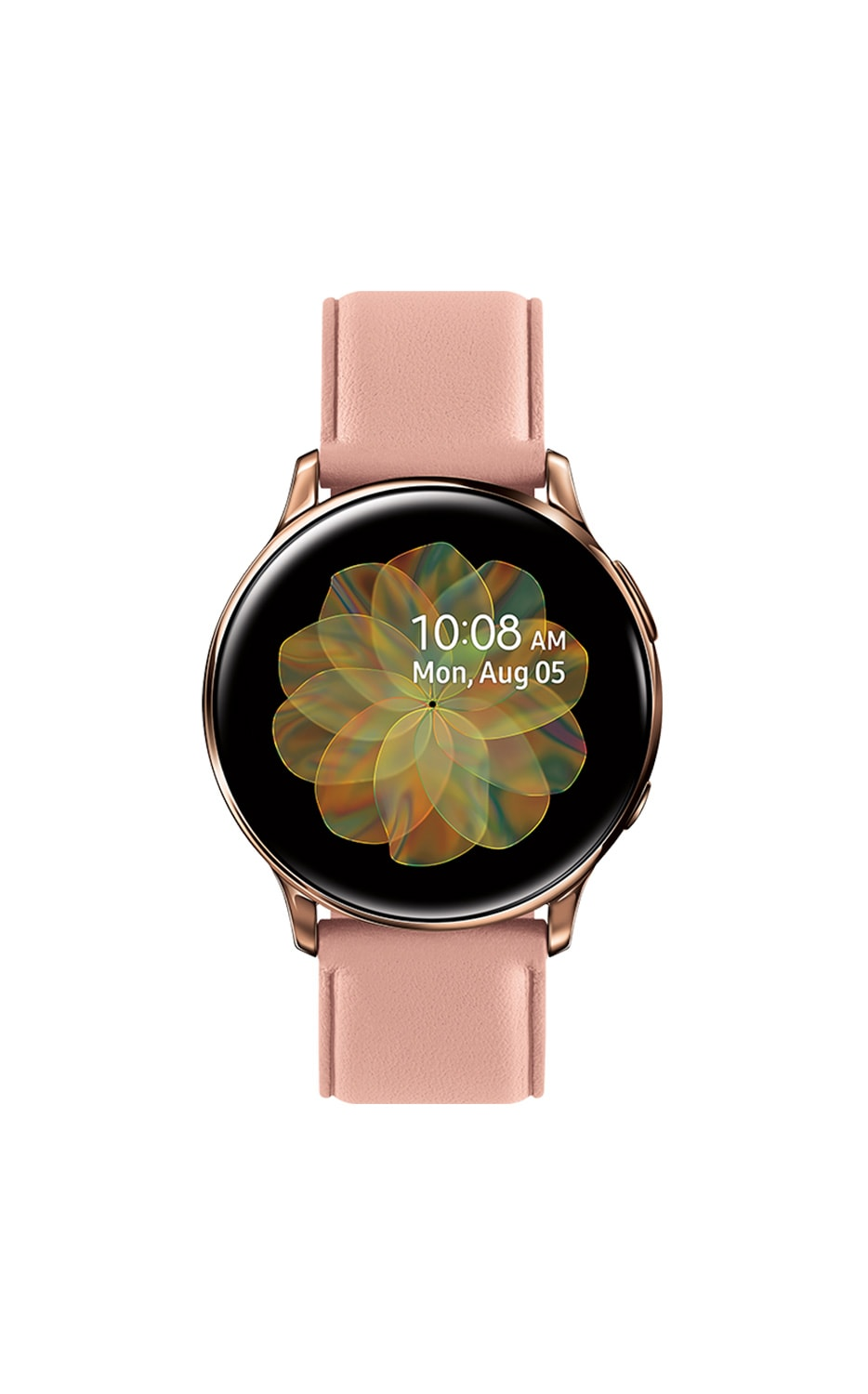 Front View Galaxy Watch Active2 40mm RoseGold