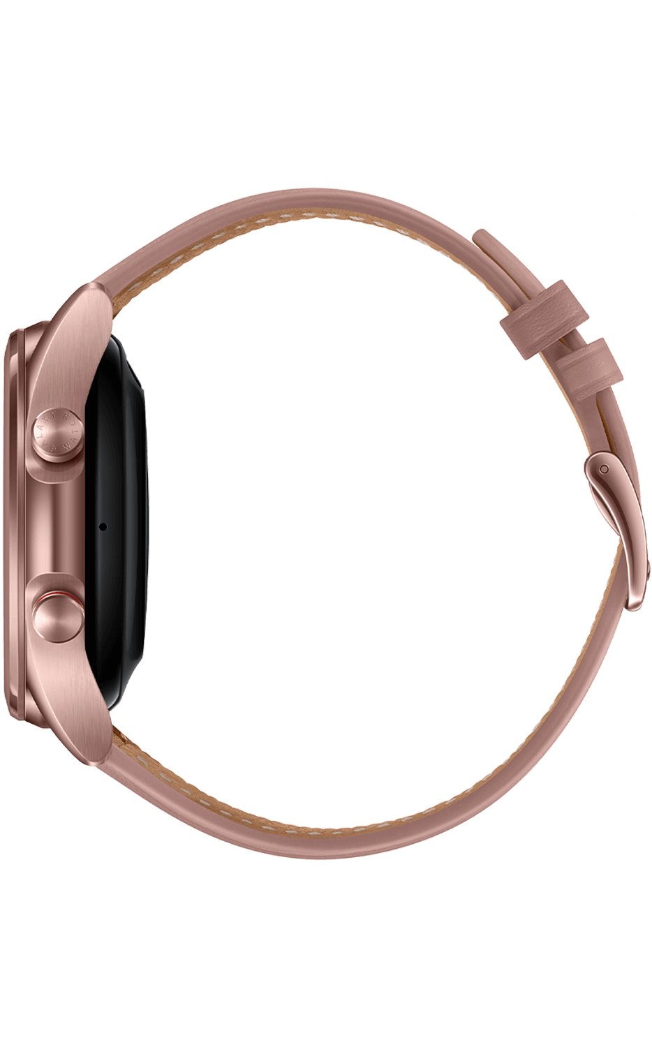 Right View Galaxy Watch3 41mm Mystic Bronze