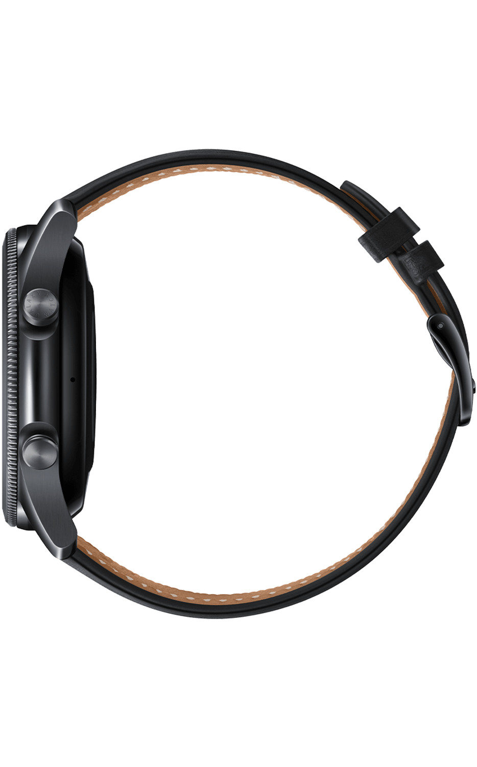 Right View Galaxy Watch3 45mm Mystic Black