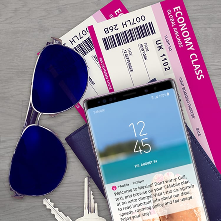 Simple Global | Travel Abroad without Roaming Fees | T-Mobile