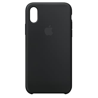 Apple iPhone X Silicone Case - Black Designed By Apple To Complement iPhone X, The Form Of The Silicone Case Fits Snugly Over The Volume Buttons, Side Button, And Curves Of Your Device Without Adding Bulk. A Soft Microfiber Lining On The Inside Helps Protect Your iPhone. On The Outside, The Silky, Soft-Touch Finish Of The Silicone Exterior Feels Great In Your Hand. And You Can Keep It On All The Time, Even When You're Charging Wirelessly.