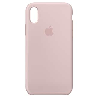 Apple iPhone X Silicone Case - Pink Sand Designed By Apple To Complement iPhone X, The Form Of The Silicone Case Fits Snugly Over The Volume Buttons, Side Button, And Curves Of Your Device Without Adding Bulk. A Soft Microfiber Lining On The Inside Helps Protect Your iPhone. On The Outside, The Silky, Soft-Touch Finish Of The Silicone Exterior Feels Great In Your Hand. And You Can Keep It On All The Time, Even When You're Charging Wirelessly.