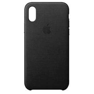 Apple iPhone X Leather Case - Black These Apple-Designed Cases Fit Snugly Over The Curves Of Your iPhone Without Adding Bulk. They're Made From Specially Tanned And Finished European Leather, So The Outside Feels Soft To The Touch And Develops A Natural Patina Over Time. The Machined Aluminum Buttons Match The Finish Of Your Leather Case, While A Microfiber Lining Inside Helps Protect Your iPhone. And You Can Keep It On All The Time, Even When You're Charging Wirelessly.