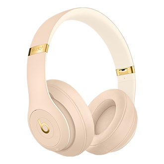 Beats Studio3 Wireless Over Ear Headphones Desert Sand Accessories At T Mobile For Business