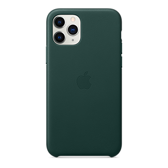 Apple Leather Case for Apple iPhone 11 Pro - Green