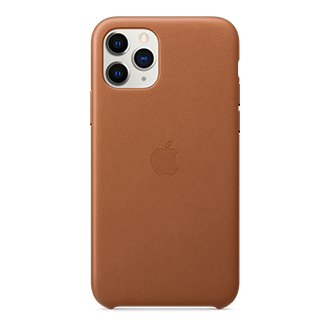Apple Leather Case for Apple iPhone 11 Pro - Brown
