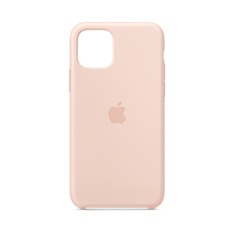 Apple Silicone Case for Apple iPhone 11 Pro - Pink Sand