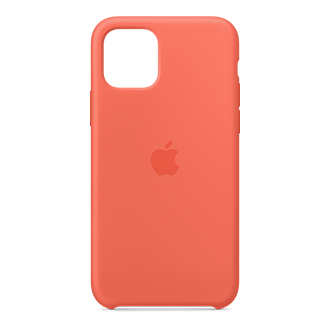 Apple Silicone Case for Apple iPhone 11 Pro - Clementine