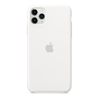 Apple Silicone Case for Apple iPhone 11 Pro Max - White