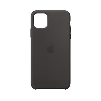 Apple Silicone Case for Apple iPhone 11 Pro Max - Black