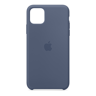 Apple Silicone Case for Apple iPhone 11 Pro Max - Alaskan Blue