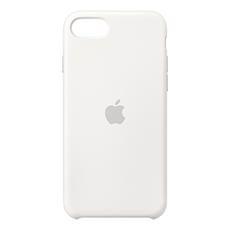 Apple Silicone Case for iPhone SE (2020) /8/7 - White