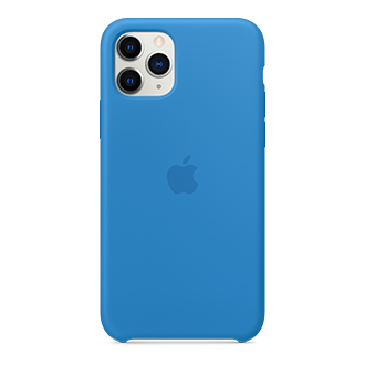 Apple Silicone Case for Apple iPhone 11 Pro - Surf Blue