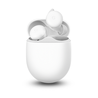 Google Pixel Buds A-Series - Clearly White
