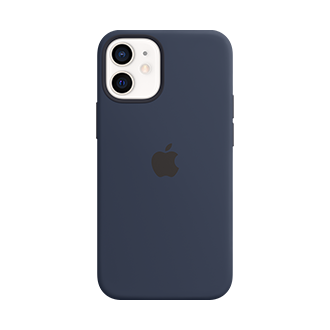 Apple Silicone Case with MagSafe for Apple iPhone 12 mini - Deep Navy