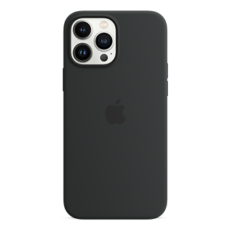 Apple Silicone Case with MagSafe for iPhone 13 Pro Max - Midnight