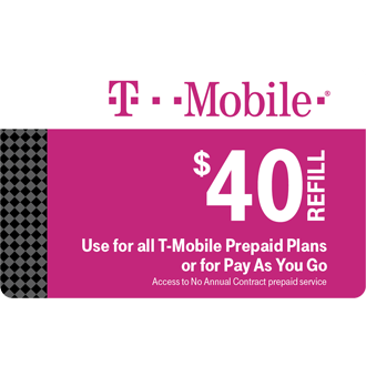 Prepaid Refill | Fund Your Account | Pay As You Go Refill | T-Mobile