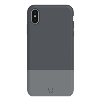 GoTo Shade Case for Apple iPhone X/XS - Graphite Grey/Charcoal