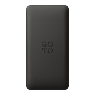 GoTo 10k Portable Power Pack - Black