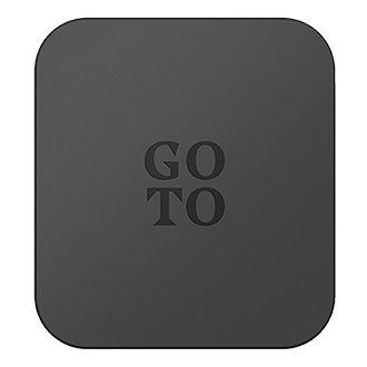 GoTo Single USB A Wall Charger - Black