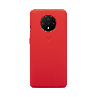 OnePlus Silicone Case for OnePlus 7T - Red