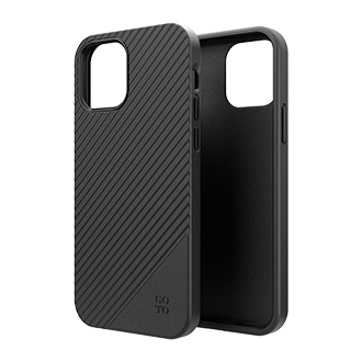 GoTo™ Fine Swell 45 Case for Apple iPhone 12/12 Pro - Black