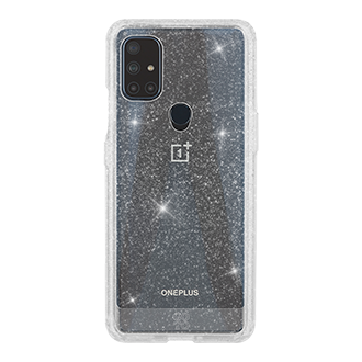 GoTo™ Define Sparkle Case for OnePlus Nord N10 5G - Clear Sparkle