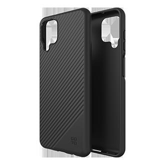 GoTo Fine Swell 45 Case for Samsung Galaxy A12 - Black