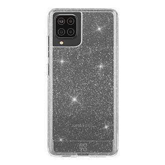 GoTo Define Sparkle Case for Samsung Galaxy A12 - Clear Sparkle