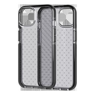 Tech21 Evo Check Case for Apple iPhone 13 - Smoke Black