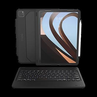 ZAGG Rugged Book Go Keyboard Case for Apple iPad Pro 11-inch - Black