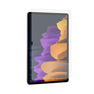 InvisibleShield GlassFusion Plus Screen Protector for Samsung Galaxy Tab S7+ 5G