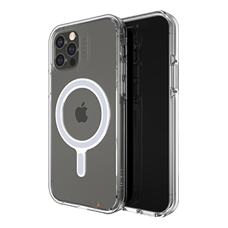 Gear4 Crystal Palace Snap Case for iPhone 12/12 Pro - Clear