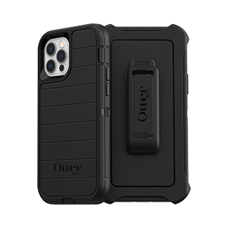 Otterbox Defender Series Pro Case for Apple iPhone 12/12 Pro - Black