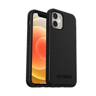 OtterBox Symmetry Plus Series Case for Apple iPhone 12 mini - Black