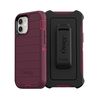 Otterbox Defender Series Pro Case for Apple iPhone 12 mini - Berry Potion