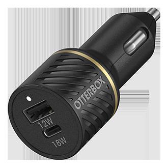 OtterBox Car Charger Dual 30W USB-C - Black
